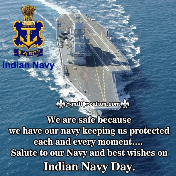 Happy Indian Navy Day Messages