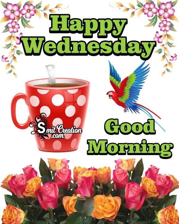 Good Morning Happy Wednesday Image