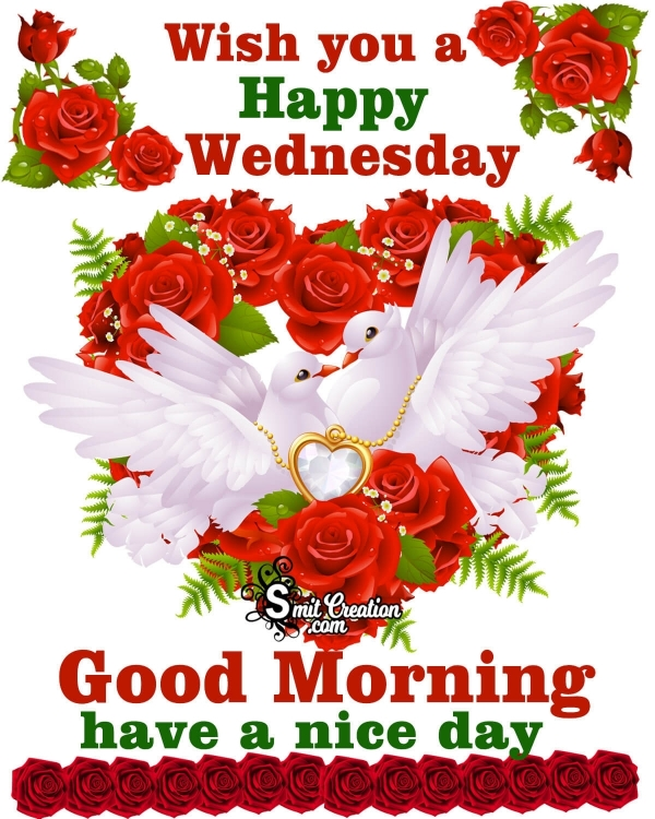 Wish You A Happy Wednesday Good Morning