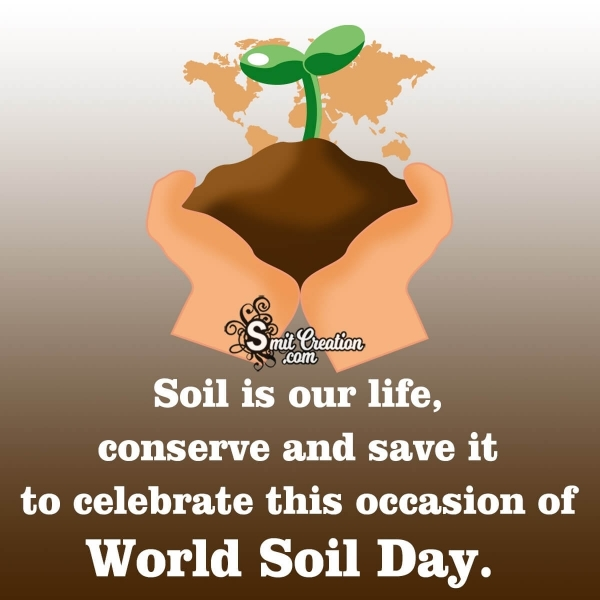 World Soil Day Message