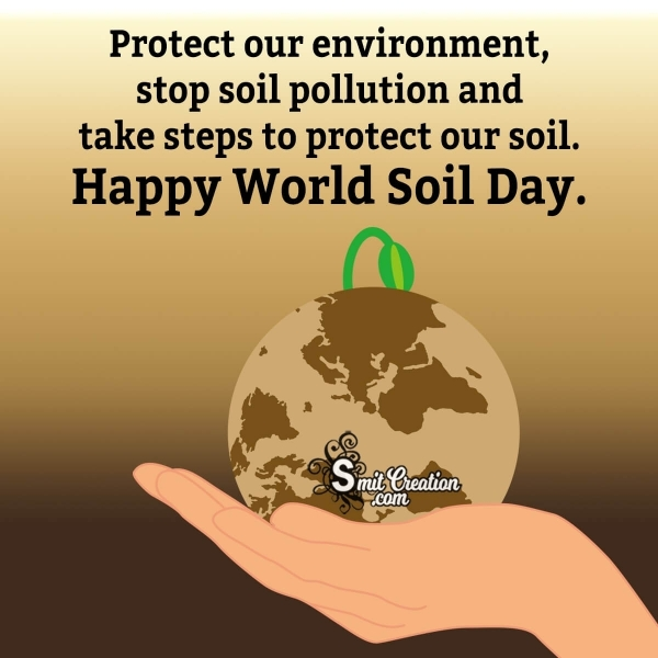 Happy World Soil Day Message