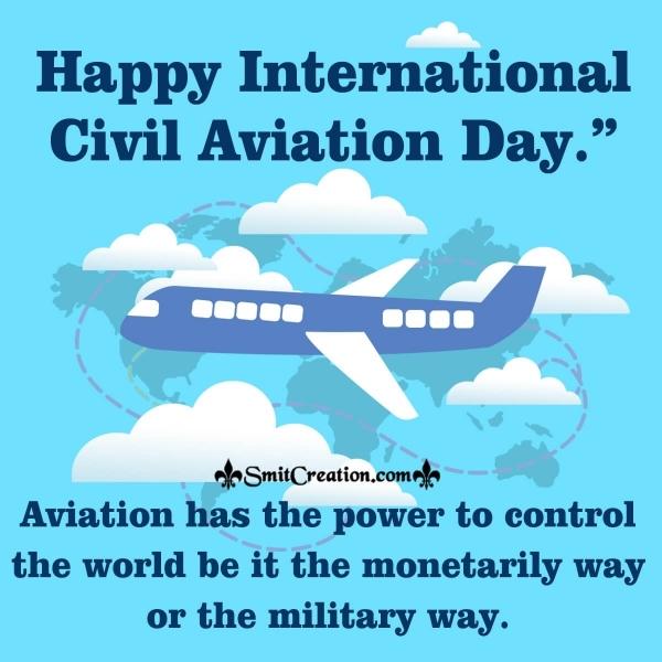 Happy International Civil Aviation Day Quote