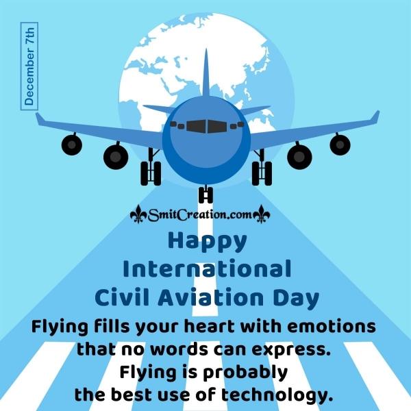Happy International Civil Aviation Day Slogans