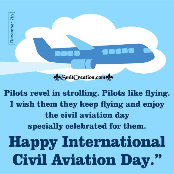 Wishes Messages On Civil Aviation Day