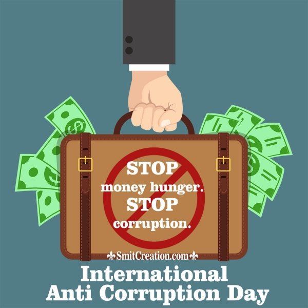 International Anti Corruption Day Slogans