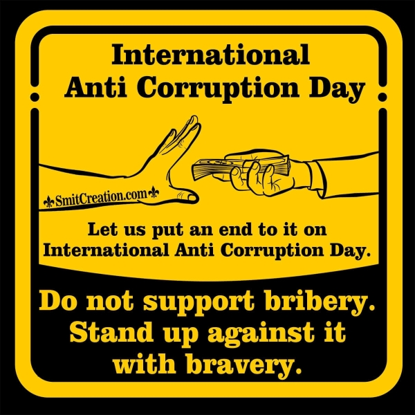 International Anti Corruption Day Quotes