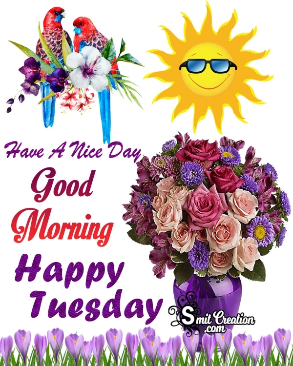 Happy Tuesday Good Morning Have A Nice Day