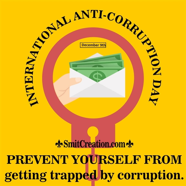 International Anti Corruption Day English Slogan