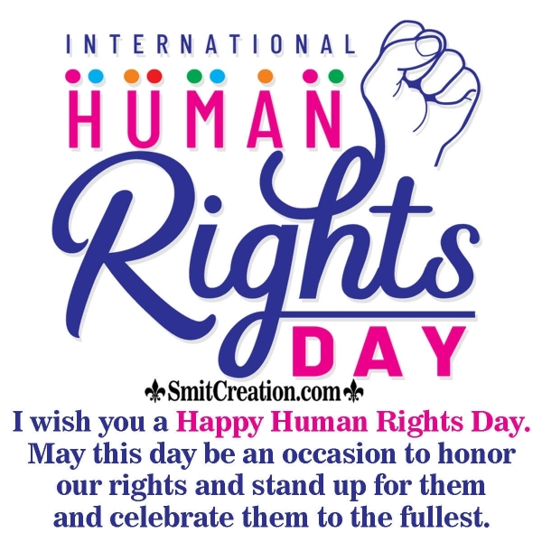 International Human Rights Day Messages