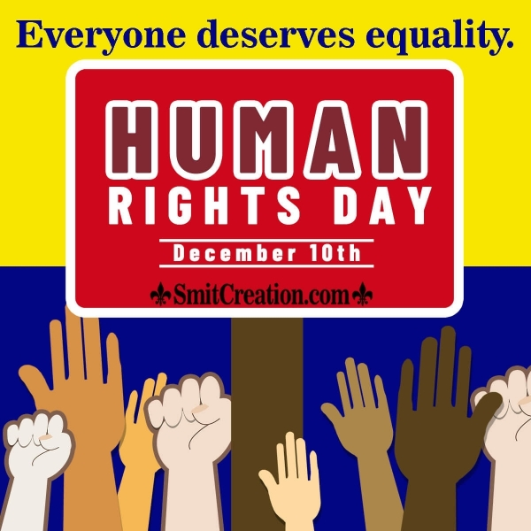 Best and Catchy Human Rights Day Slogans