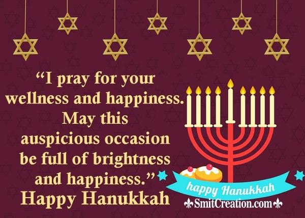 Happy Hanukkah Wishes Message