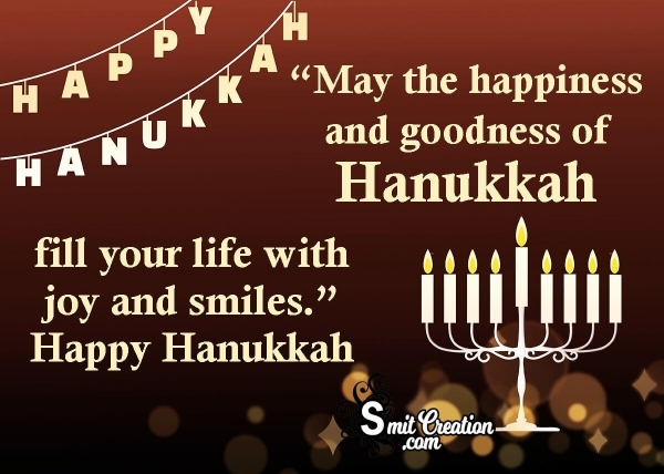 Happy Hanukkah Wishes, Blessings, Messages Images