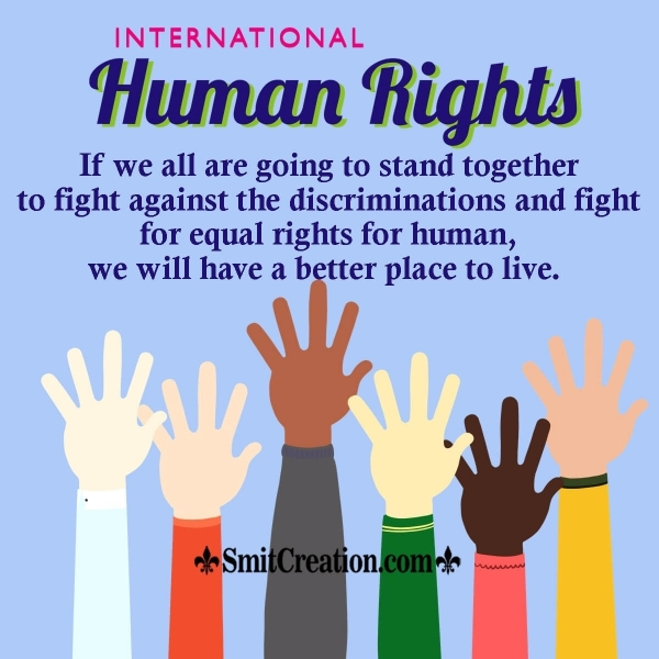 Happy Human Rights Day Message