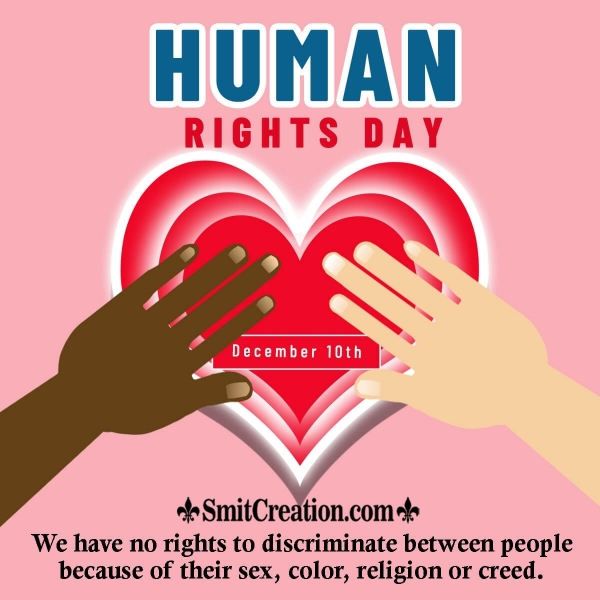 Human Rights Day Greetings
