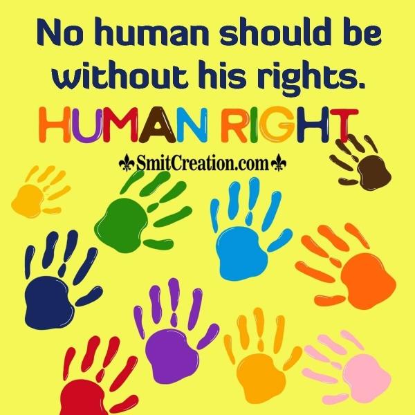 Human Rights Day Slogan