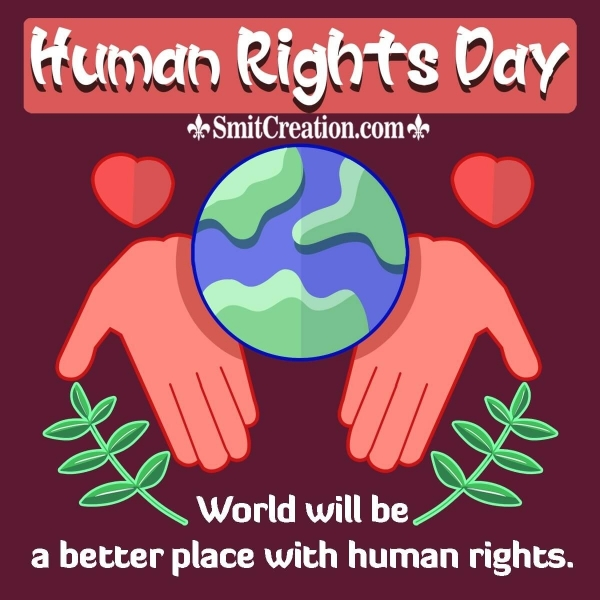 Human Rights Day Slogan In English