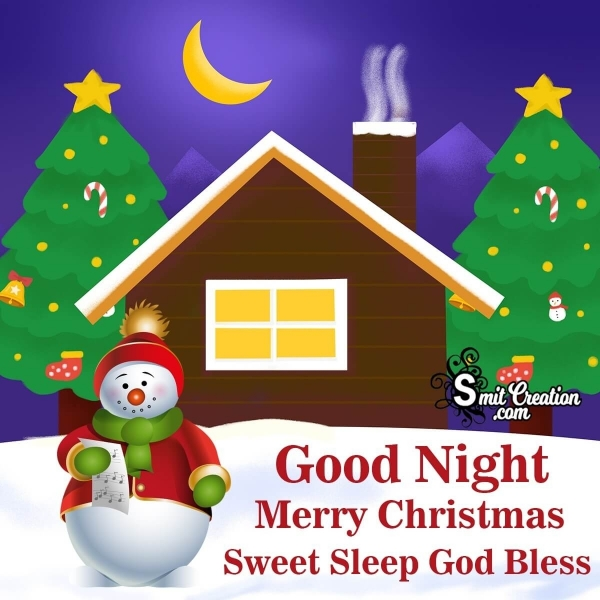 Christmas Good Night Images