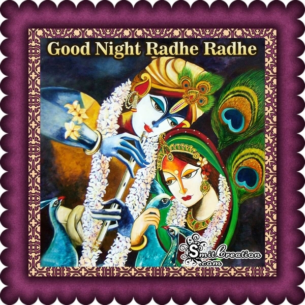 Good Night Radhe Radhe