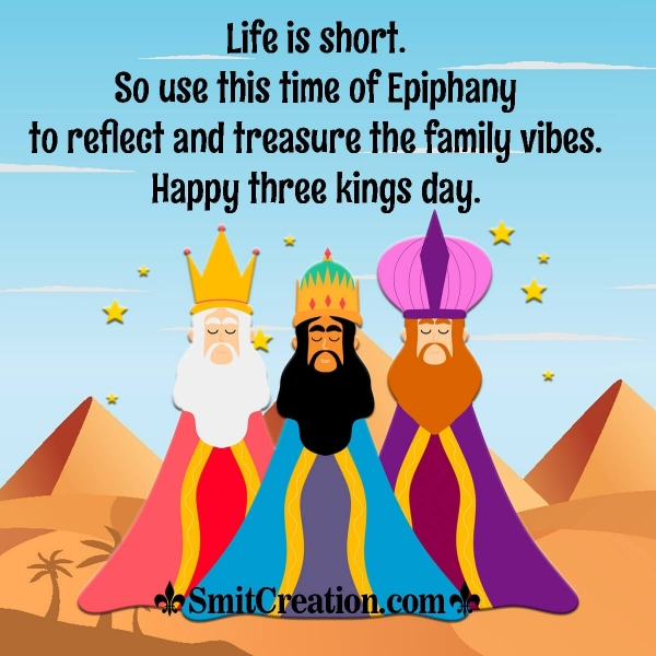 Happy Three Kings Day Messages