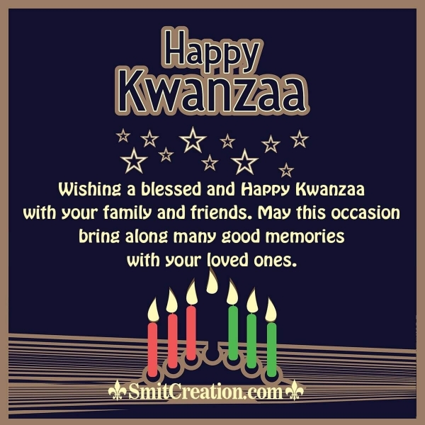 Happy Kwanzaa Wishes for Friends and Family