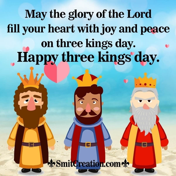 Happy Three Kings Day Wishes