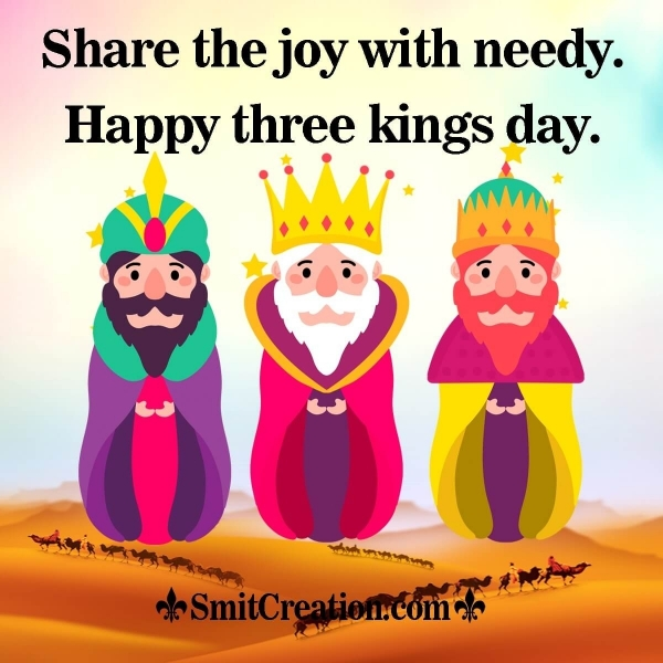 Happy Three Kings Day Quote