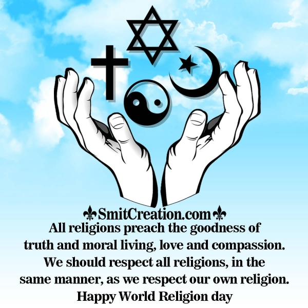 World Religion Day Greetings