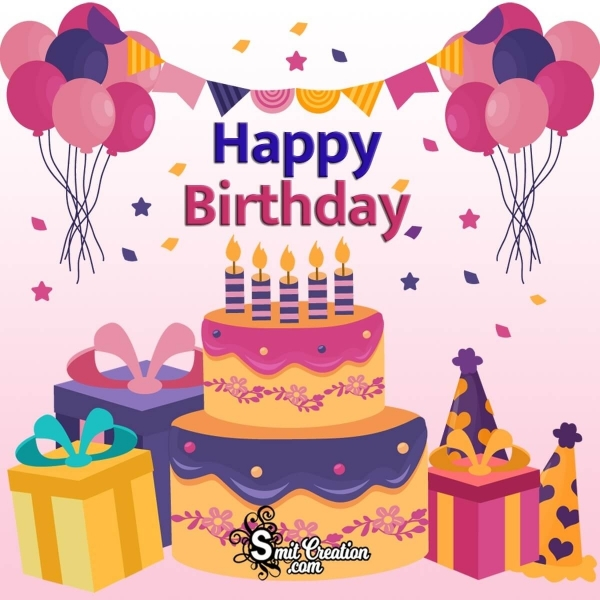 Happy Birthday Decoration For Whatsapp