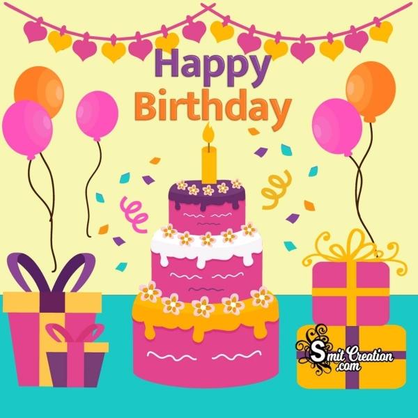 Happy Birthday Decoration Image