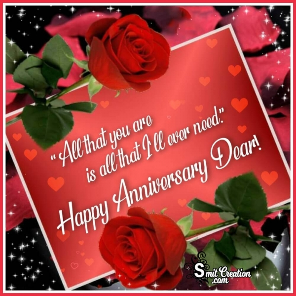 Happy Anniversary Wish Photo
