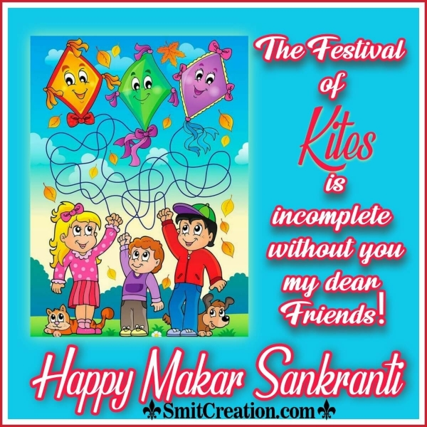 Happy Makar Sankranti For Friends