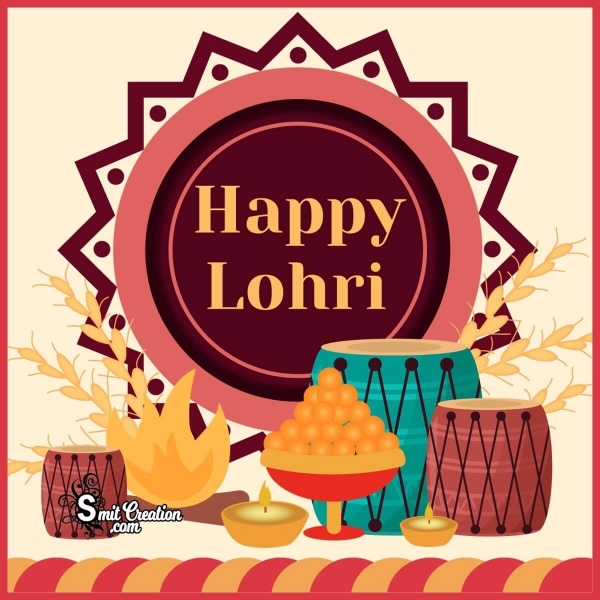 Happy Lohri Image For Whatsapp