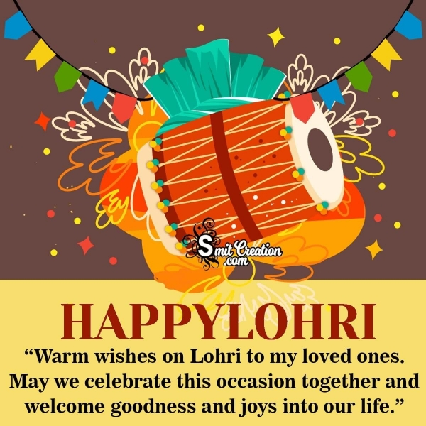 Happy Lohri Wishes Messages to Family and Friends