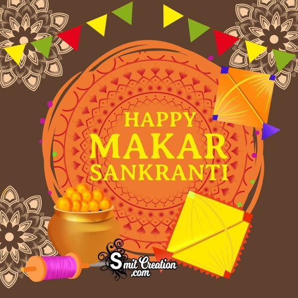 Happy Makar Sankranti Graphic Designe
