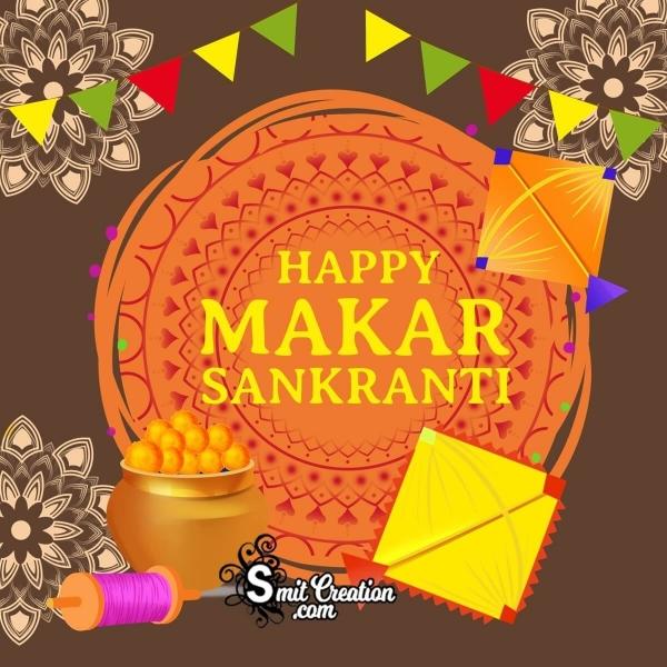 Happy Makar Sankranti Graphic Designe
