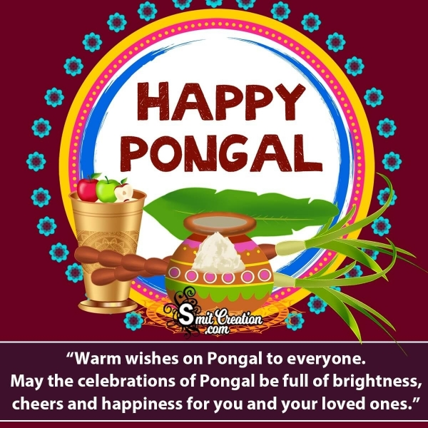 Happy Pongal Messages for Whatsapp