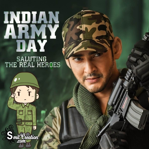 Happy Indian Army Day Status Messages, Whatsapp Status