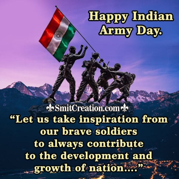 Happy Indian Army Day Messages