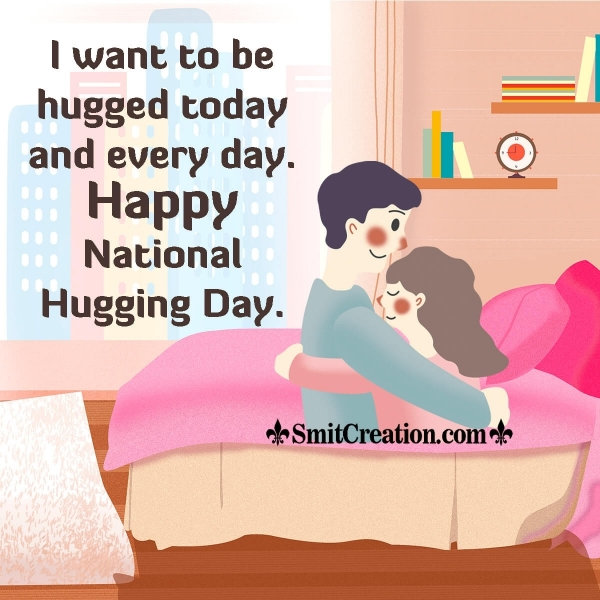 Happy National Hugging Day Messages