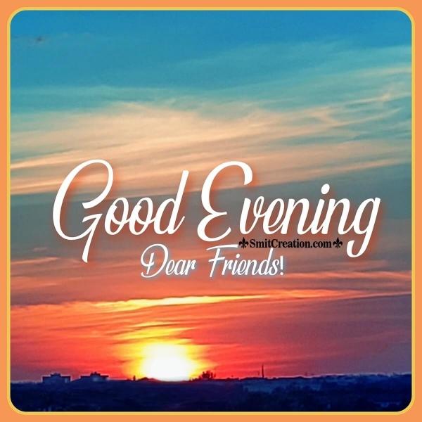 Good Evening Sunset Image