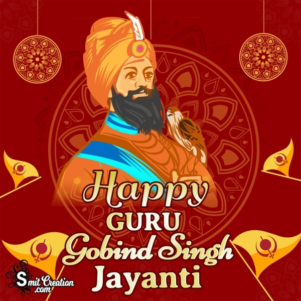 Happy Guru Gobind Singh Jayanti Whatsapp DP
