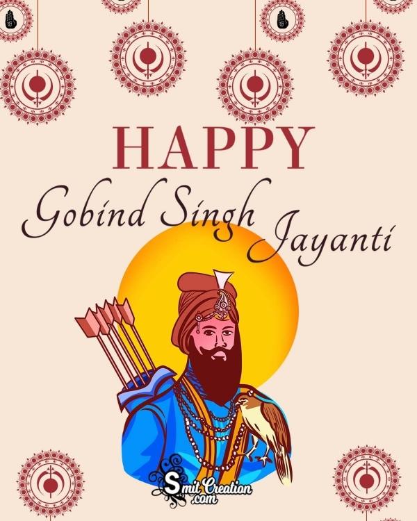 Happy Guru Gobind Singh Jayanti Poster