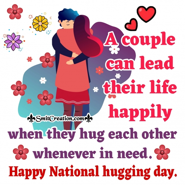Happy National Hugging Day Message