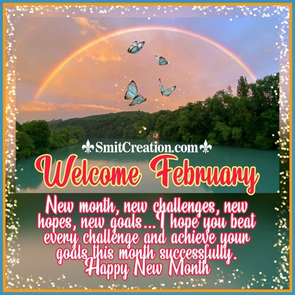 Welcome February New Month