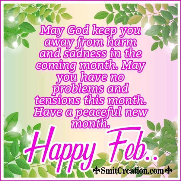 Happy February God Blessing