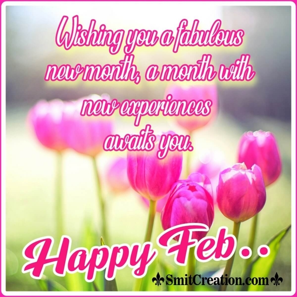Happy February Wish Image