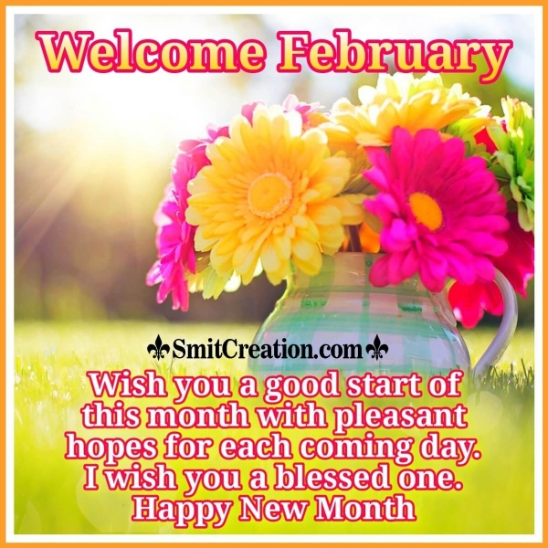 Welcome February Wish Image