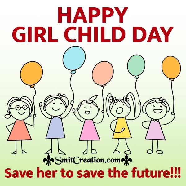 Happy Girl Child Day Slogans