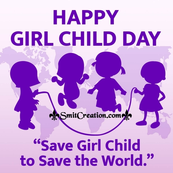 Happy Girl Child Day Messages