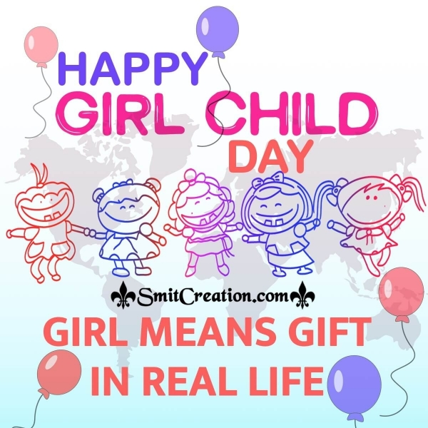 Happy Girl Child Day Quotes